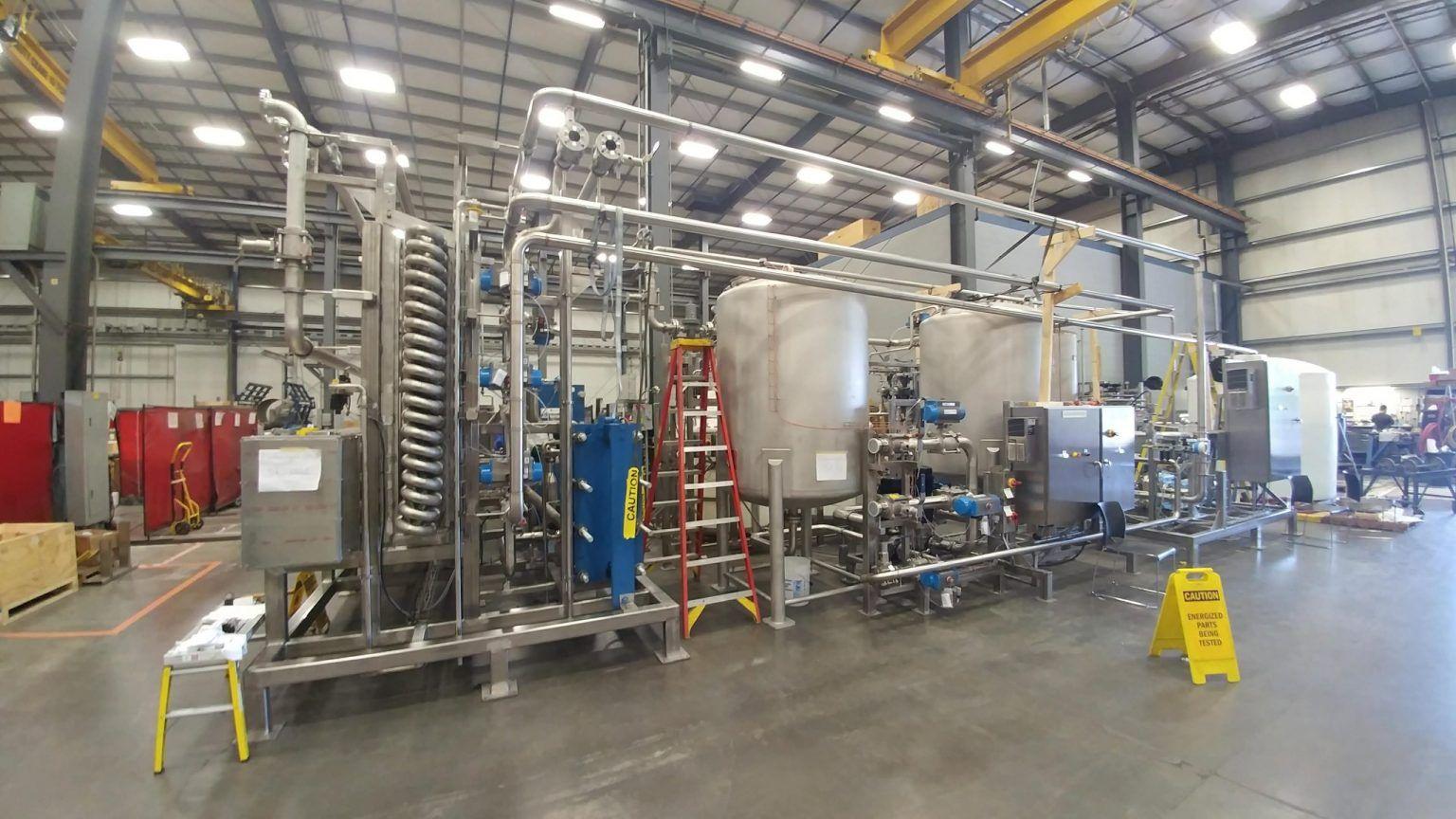 ABC Actini Continuouys Flow decontamination system