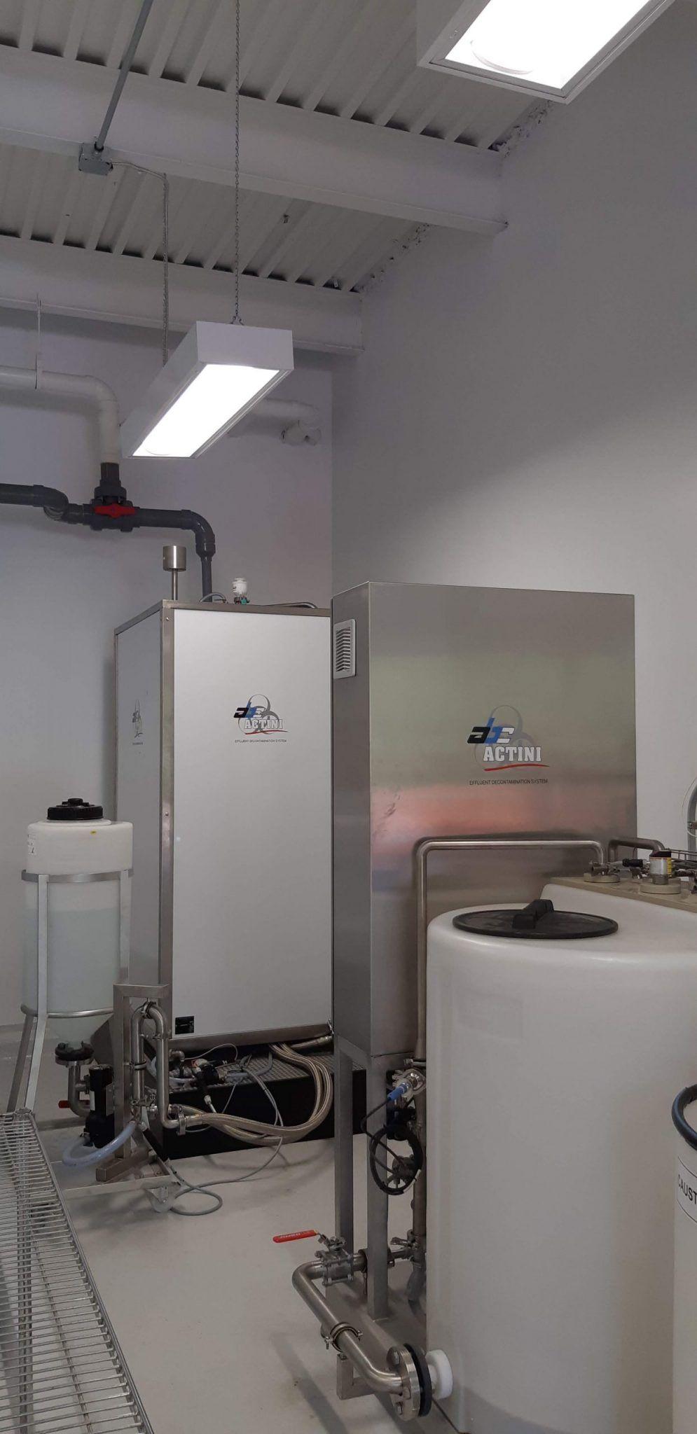 Micro biowaste decontamination system