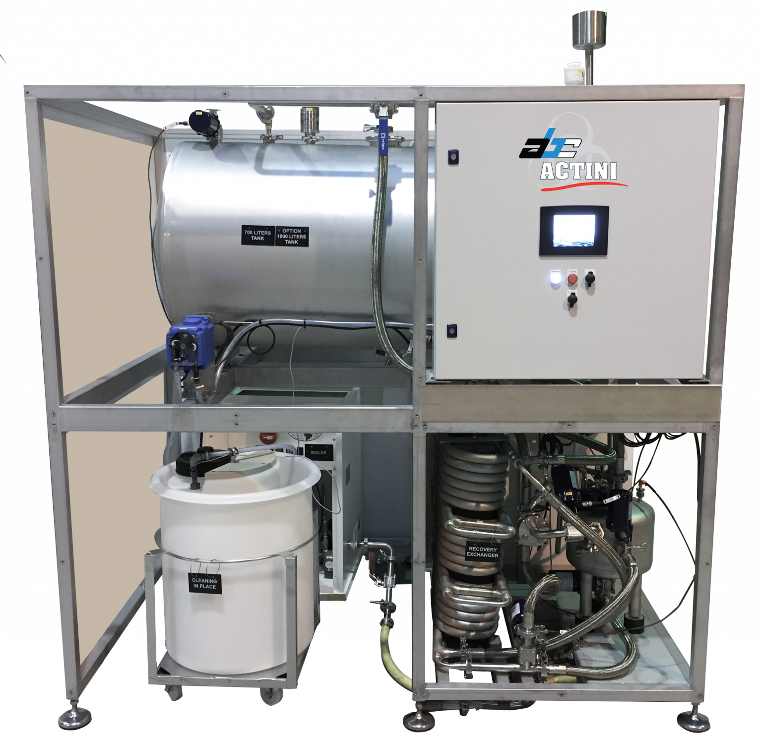 Microsteam biowaste decontamination system