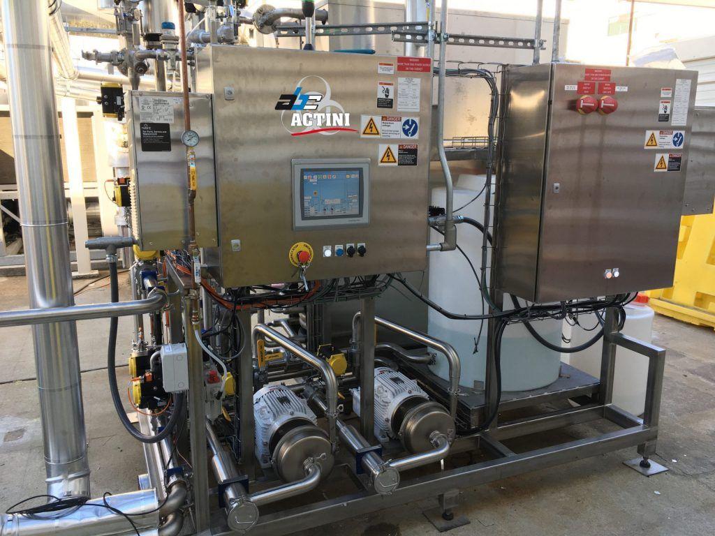 ULT+ - 3,000 lph - biowaste decontamination system - ABC Actini