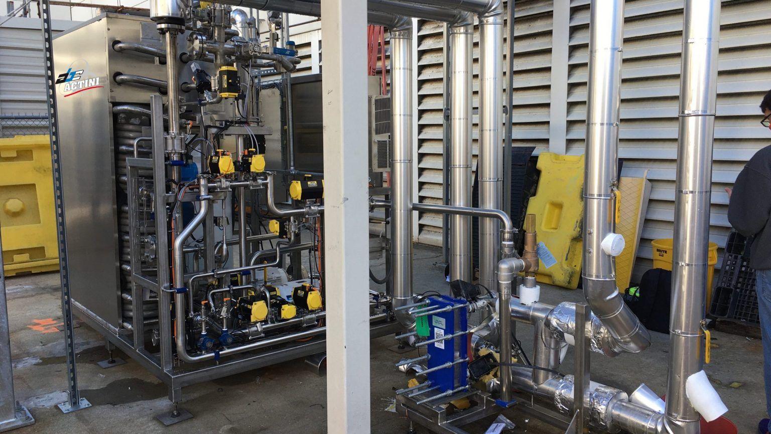 ULT+ - 3,000 lph - biowaste decontamination system - ABC Actini 3