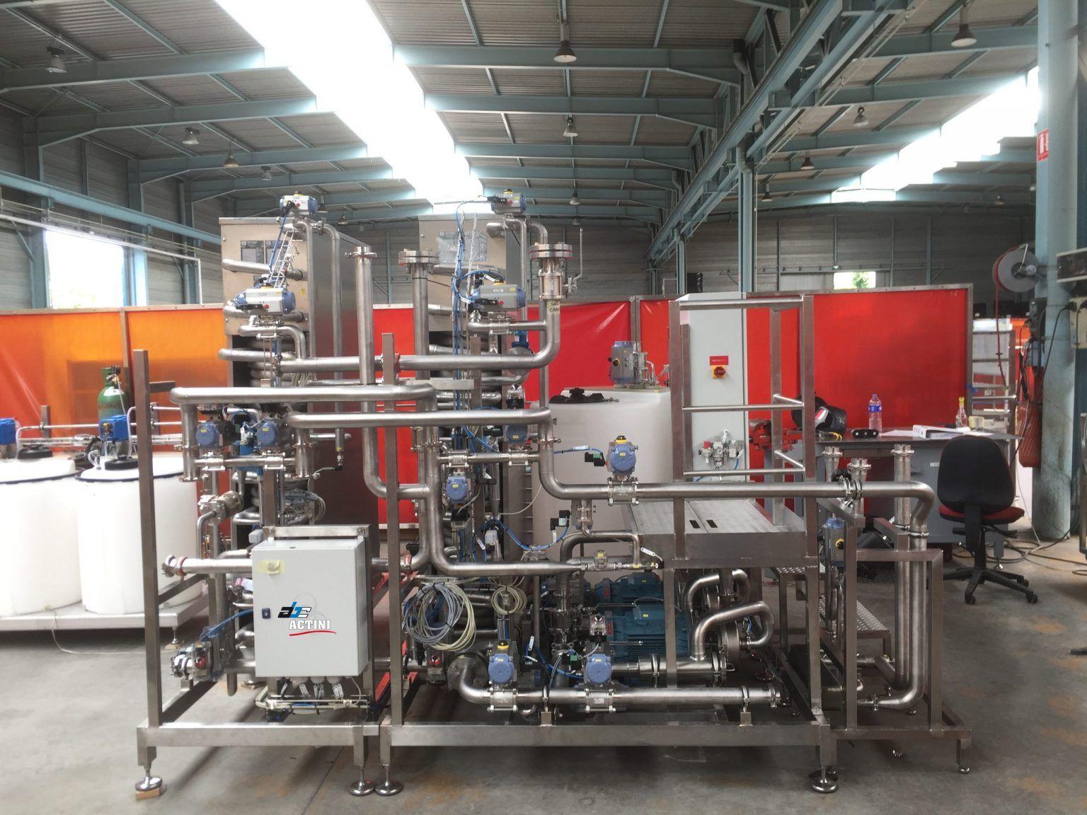 UIMATE PLUS - biowaste decontamination system - ABC Actini