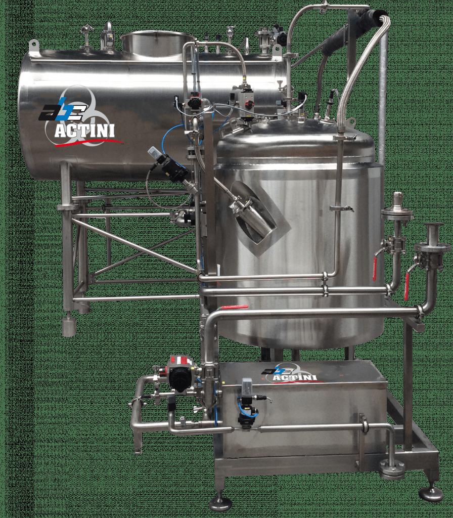 UltiBatch lab biowaste decontamination unit