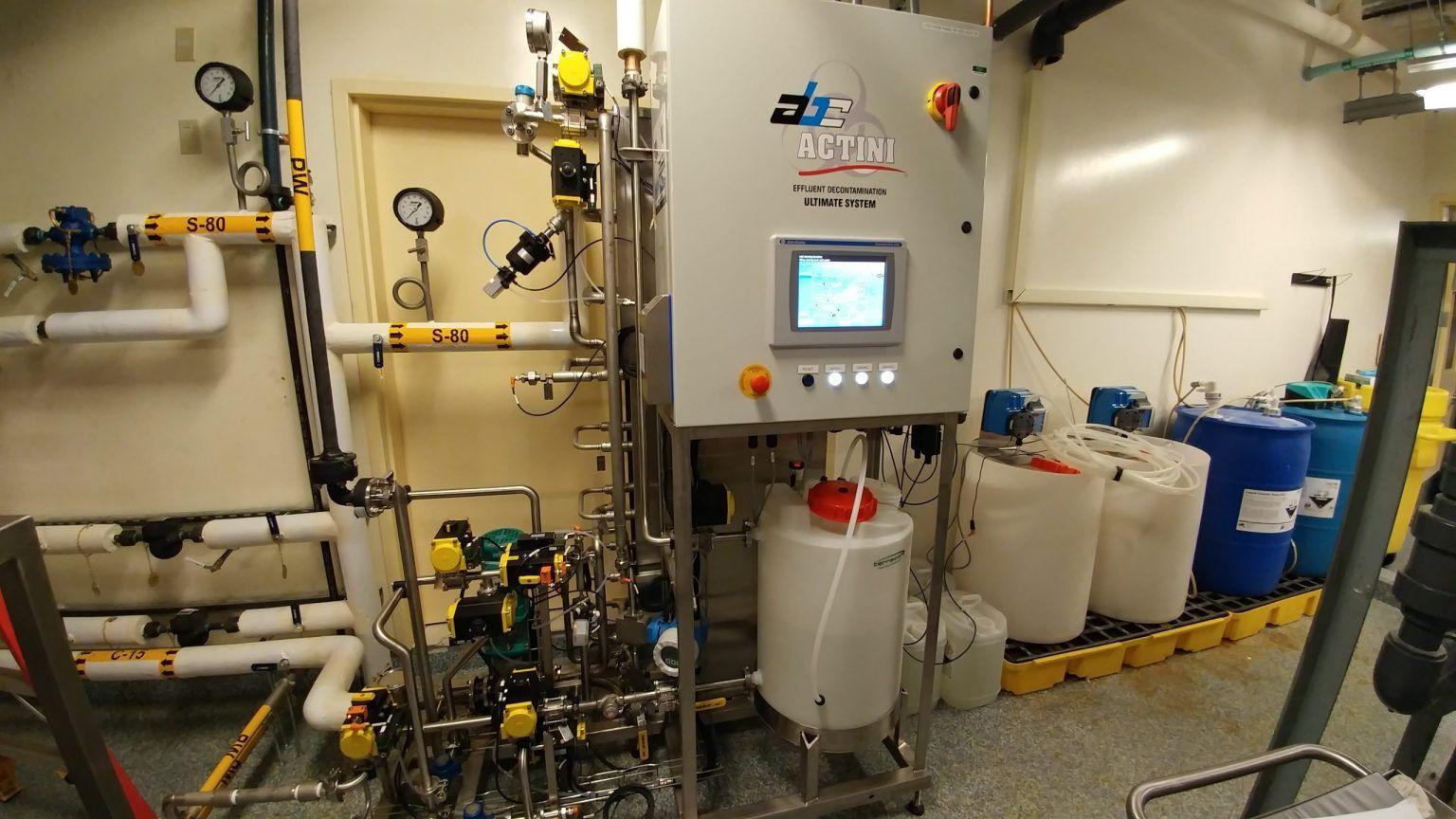 Ultimate decontamination unit