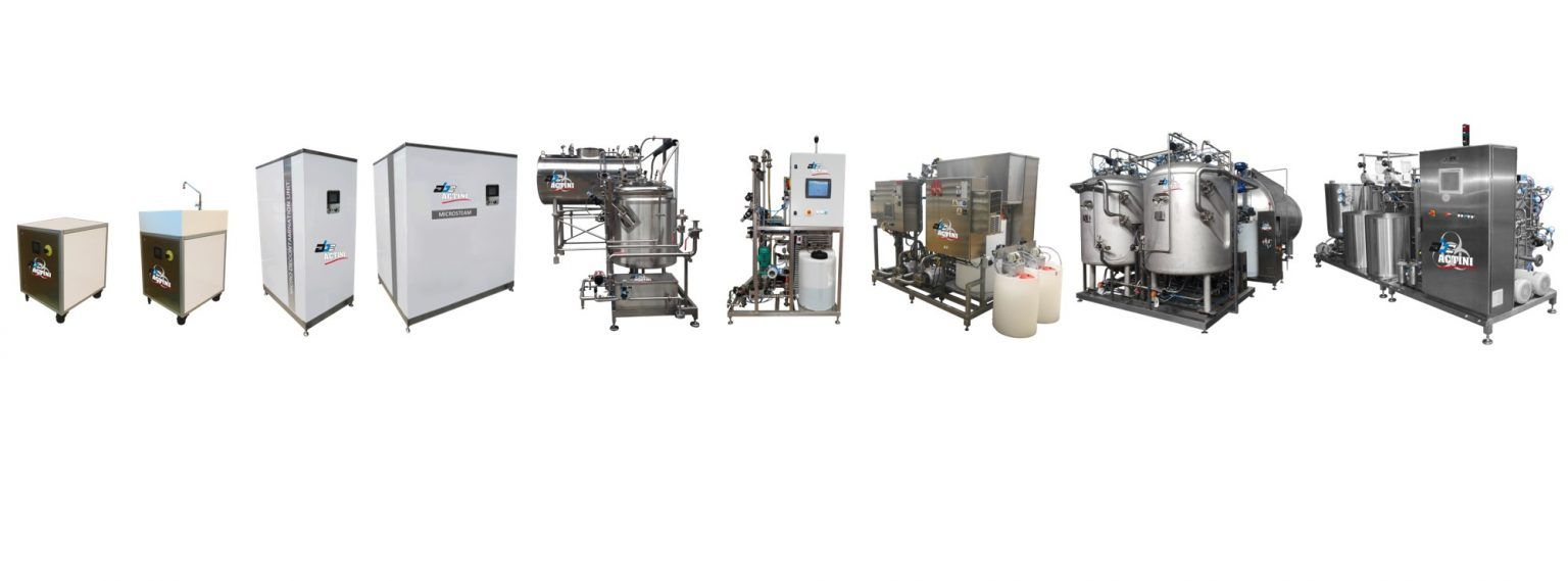 ABC Actini complete decontamination systems productline