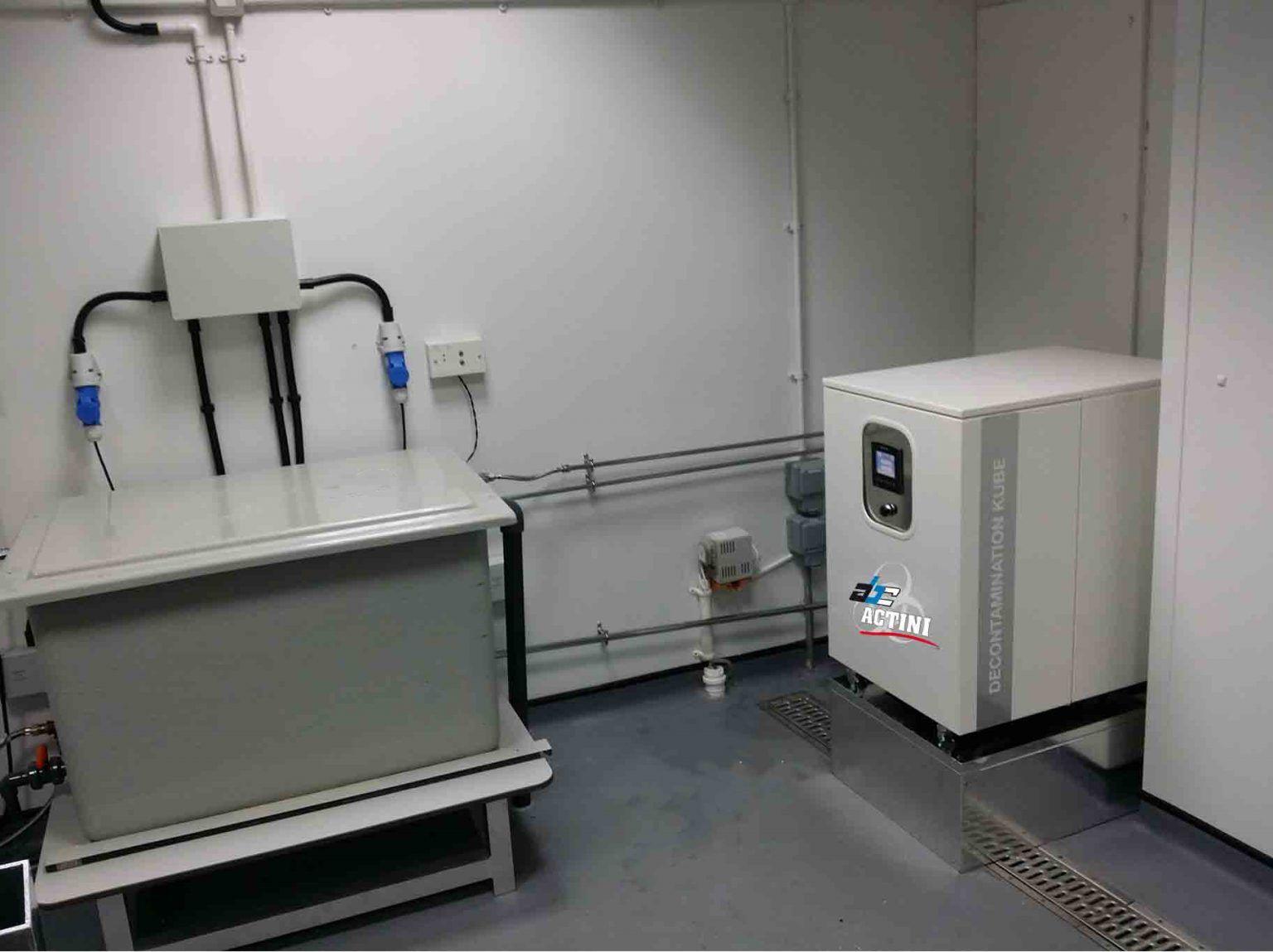 ABC Actini KUBE decontamination unit
