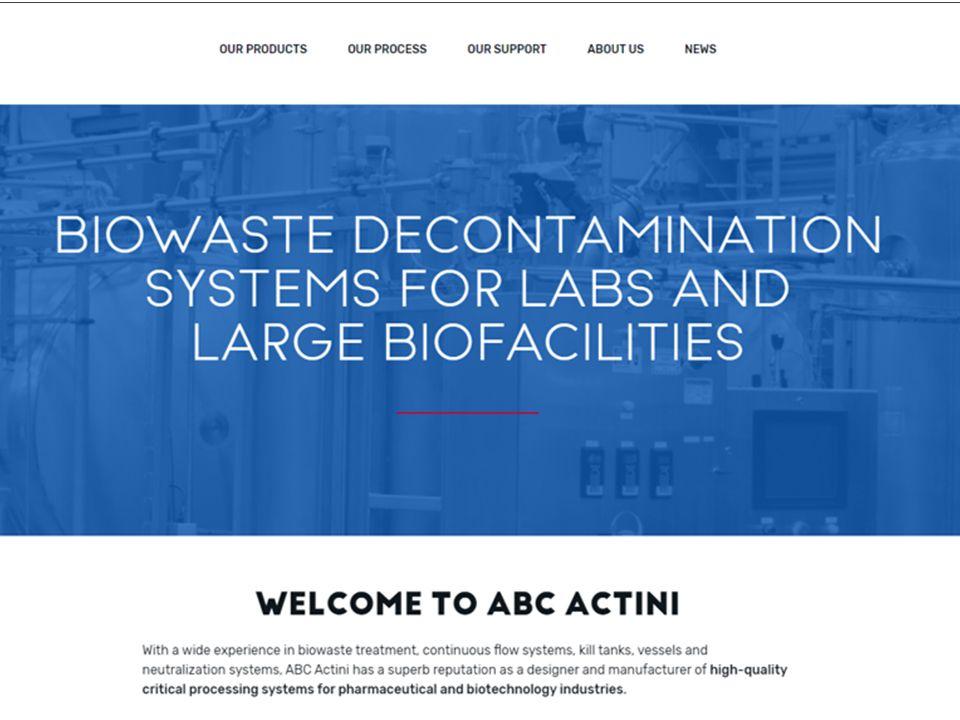 ABC Actini new website